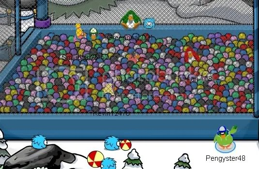 Puffle Party 1