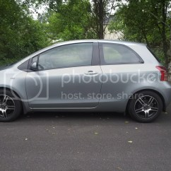 Toyota Yaris Ia Trd All New Camry Sport Lowering Springs Installed W Pics On