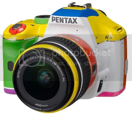 Pentax K-x Rainbow