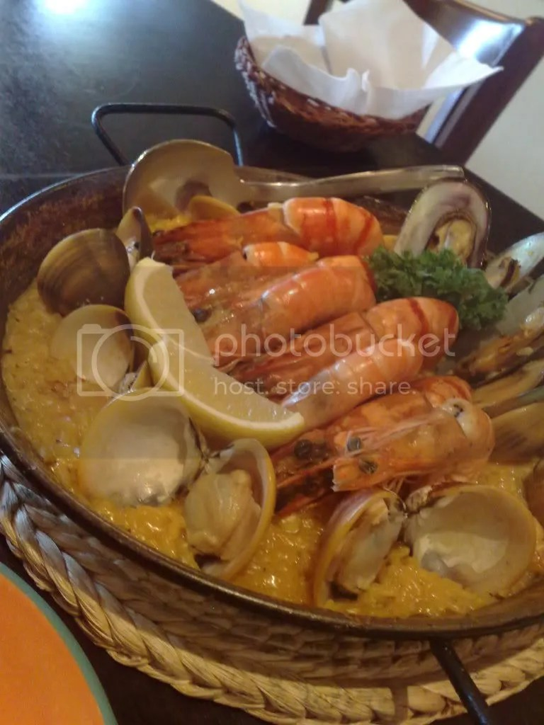 seafood,paella,spanish,don quijote,lorong kilat,jalan jurong kechil