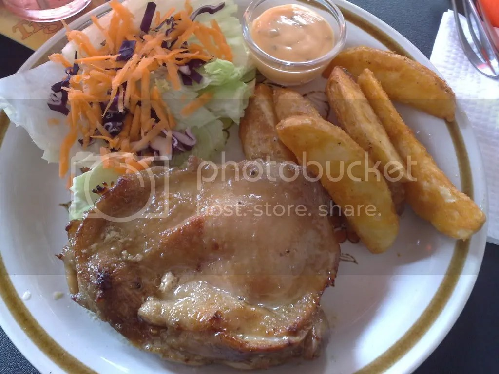 Food Addict Cafe's Oven-baked Chicken