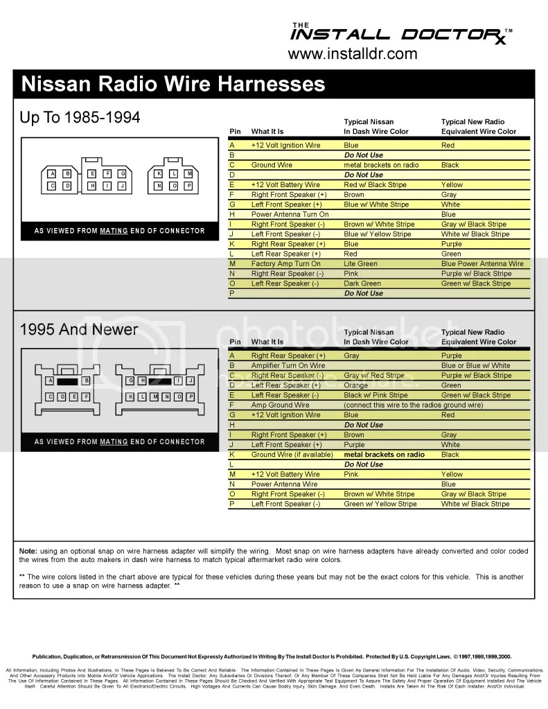 Wiring Diagram For 2002 Nissan Sentra