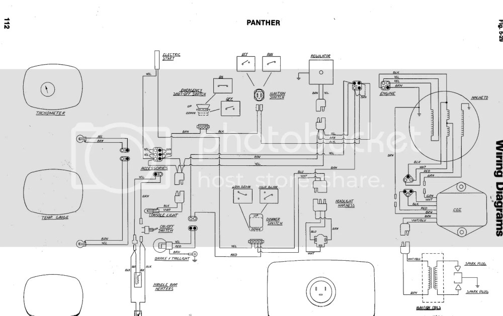 medium resolution of arctic cat 440 snowmobile wiring diagrams data diagram schematic arctic cat z 440 wiring diagram wiring