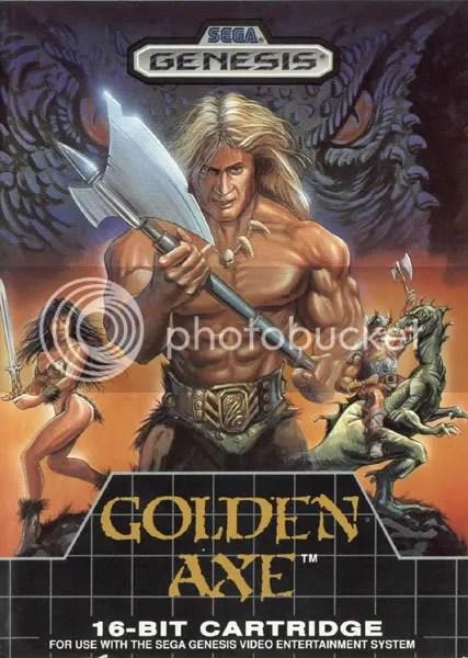 O clássico Golden Axe, para Mega Drive