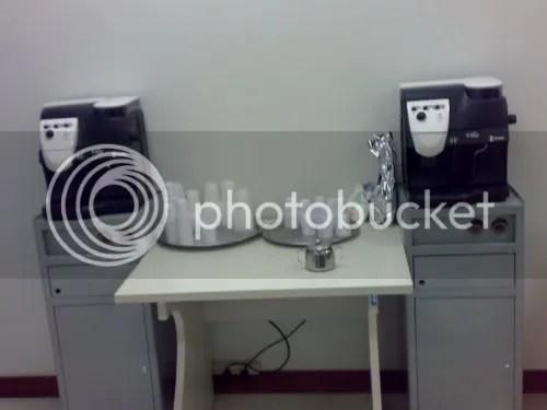 As dificeis máquinas de café expresso...