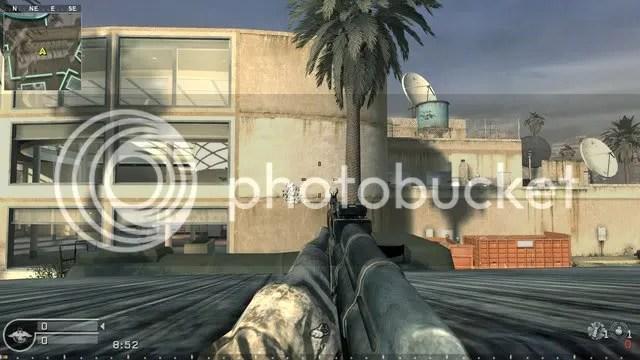 AK-47 in COD4