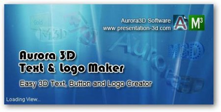 Aurora 3D Text & Logo Maker 12.06.26