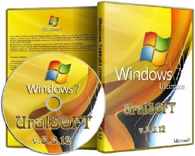 Windows 7 Ultimate UralSOFT 3.3.12 (2012/RUS/x86/x64)