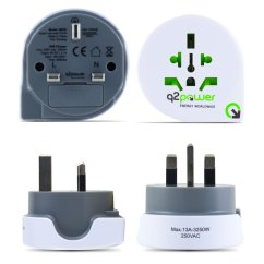 Plug Power Q2 Hyperion Planning Architecture Diagram World To Uk All In One Travel Adapter White Grey On