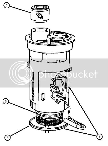 1997 TJ Fuel Filter
