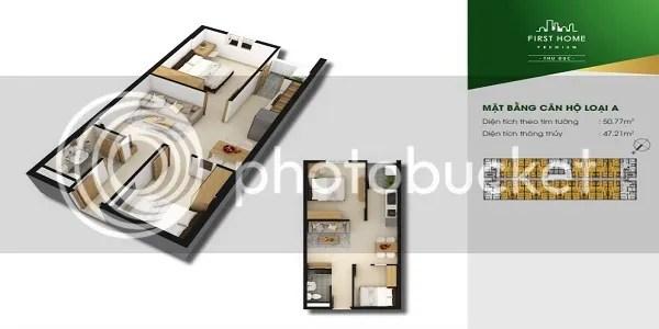 Căn Hộ First Home Premium Thủ Đức 2PN 50.77m2