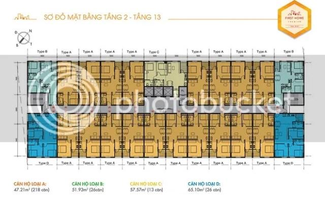 Dự án cao 16 tầng với 316 căn hộ (Trong đó: 218 căn loại A DT 47m2, 26 căn loại B DT 52m2, 13 căn loại C DT 57m2, 26 căn loại D DT 65m2, 16 căn loại E DT 68m2, Shop House 17 căn DT từ 50 - 70m2), giải quyết được nhu cầu an cư cho gần 1000 người dân Việt Nam