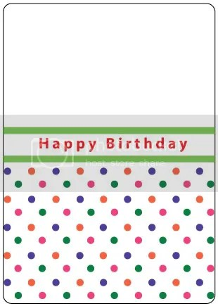 Crafts Too Happy Birthday embossing folder