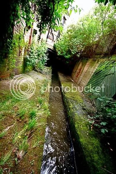 Porter Brook entering culverts. Image by Lodestar, 28DaysLater.