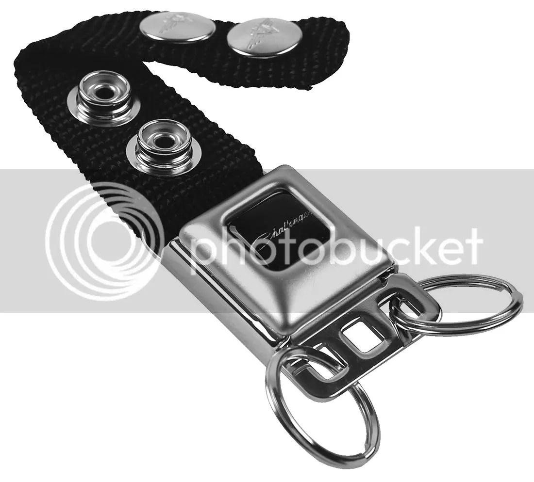 Key Chain Ring Car Lanyard Holder Dodge Challenger Srt