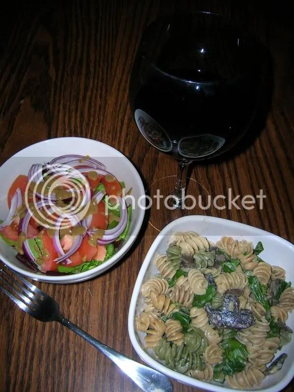 pasta & salad