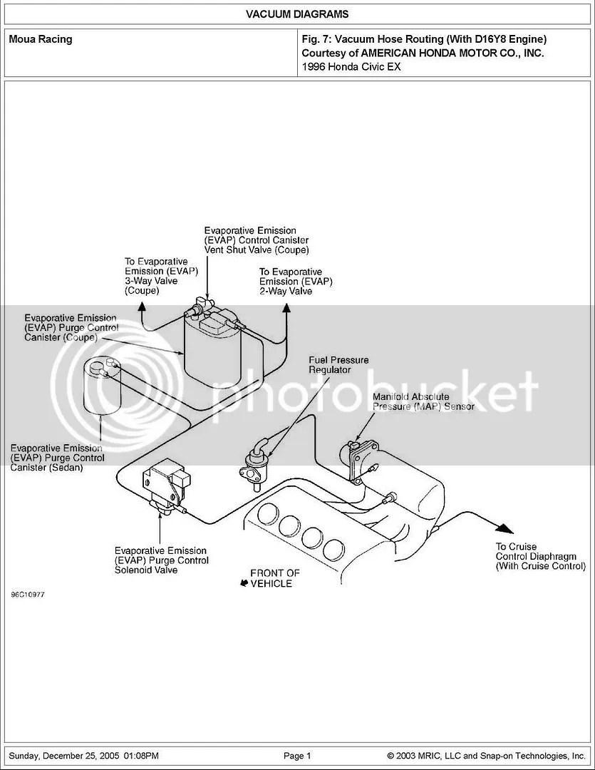 D16y8 Vacuum Diagram - 1993 gmc sierra fuse diagram wiring ... on
