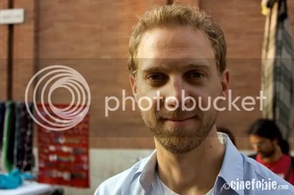 Mathieu Roy posa per Cinefobie