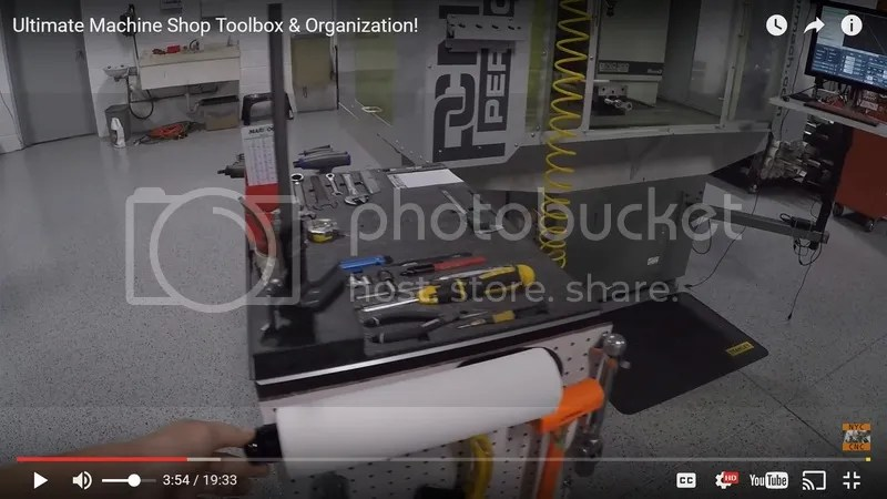 Machine Shop Organization