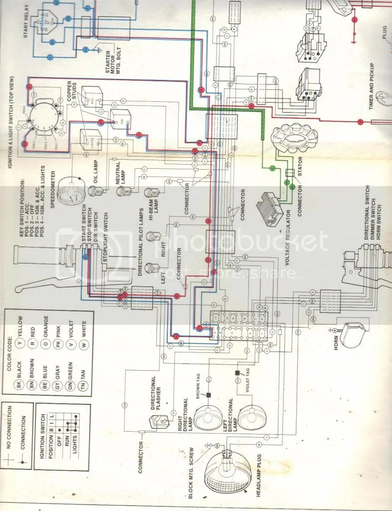 hight resolution of 1981 flh ignition wiring diagram wiring libraryspotlights that i plan on wiring into the hi beam
