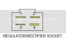 4 Pin Regulator Rectifier Wiring Diagram : 40 Wiring
