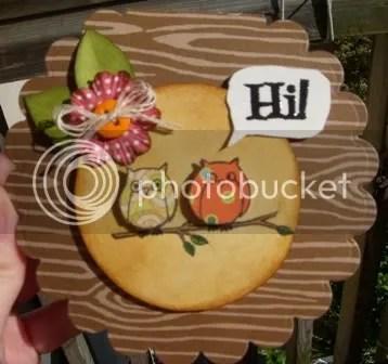 card owls hi