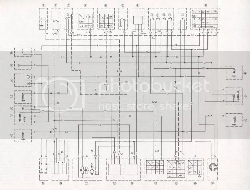 RD200 A wiring diagram?
