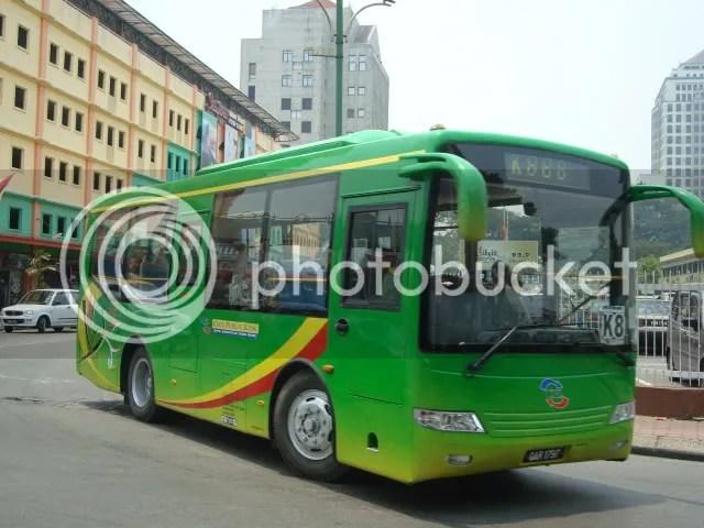Kuching City Public Link Bus