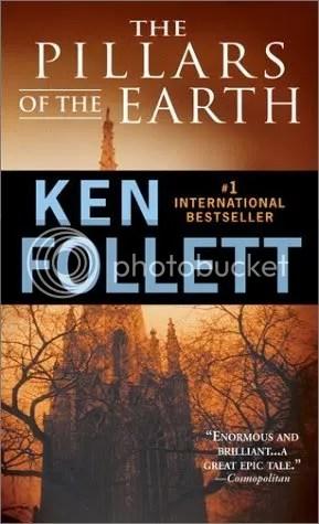 THE PILLARS OF THE EARTH, Ken Follett, book review