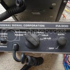 Federal Signal Pa300 Siren Wiring Diagram 3 Phase Motor Starter Sirens Pa Systems For Sale Nissan Titan Forum