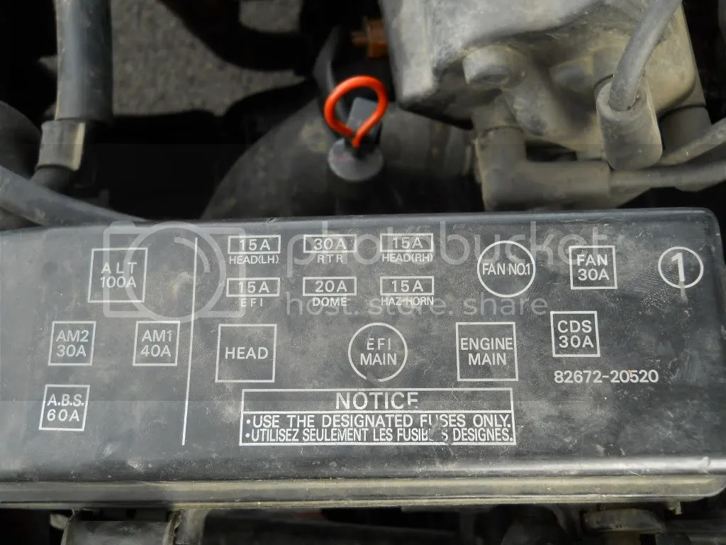 hight resolution of 1990 toyota celica fuse box diagram