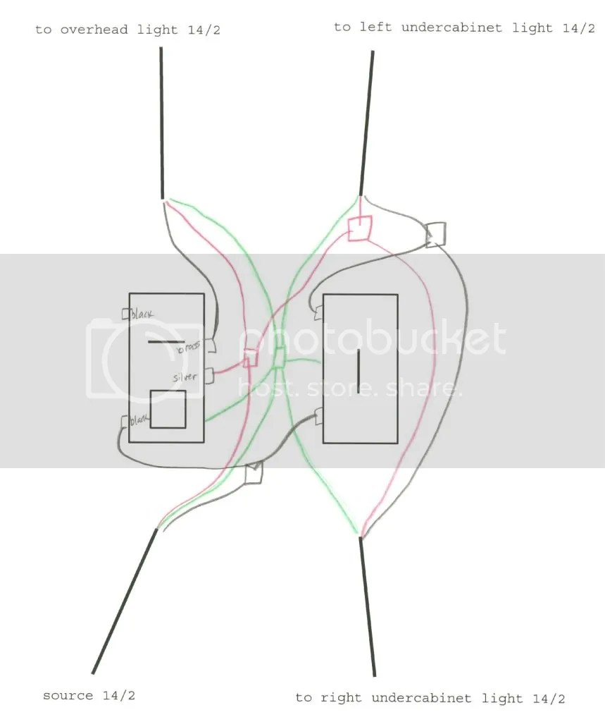 wiring combination and separate switch