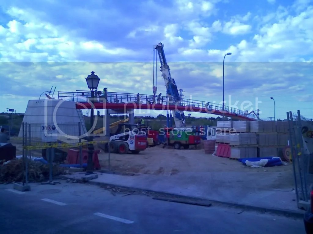 Caos por la pasarela proyecto alcorcon for Vivero alcorcon