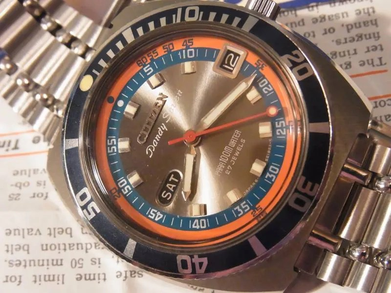 Citizen's Vintage Mechanical Divers, 1962 to 1980 | Sweephand's ...