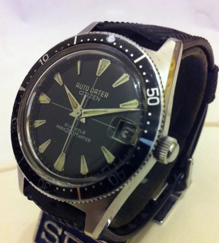 citizen s vintage mechanical divers 1962 to 1980 sweephand s