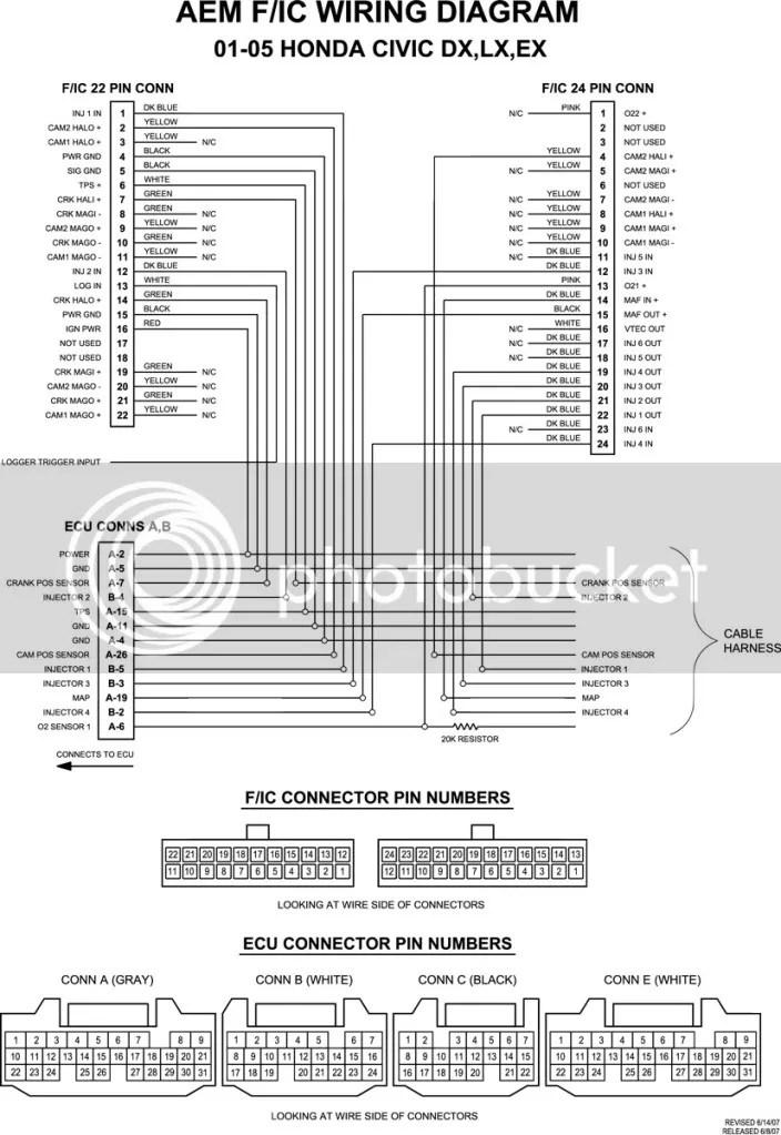aem fic wire harness diagram wiring diagram