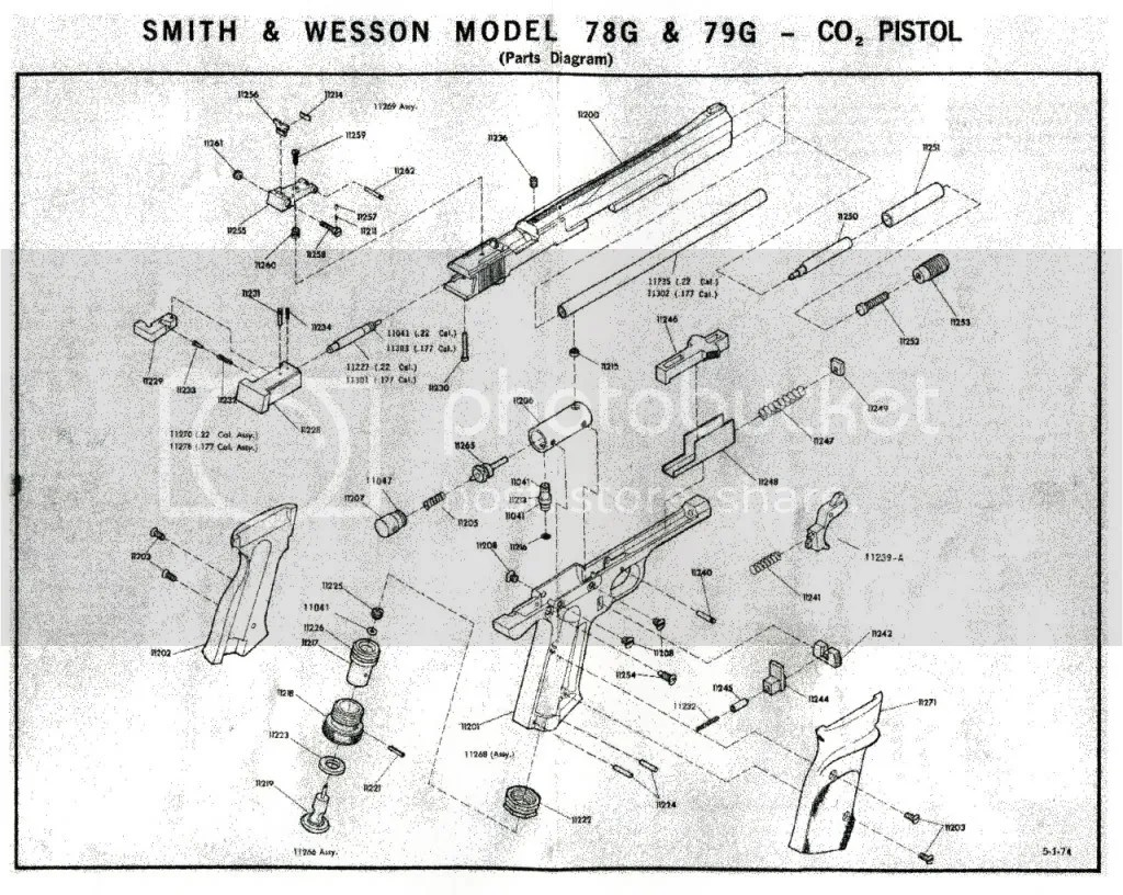 Smith Wesson Parts Diagram Pictures To Pin