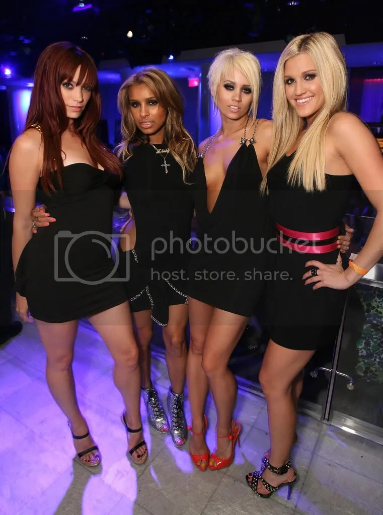 Pussycat Dolls at the Maxim Hot 100 Party