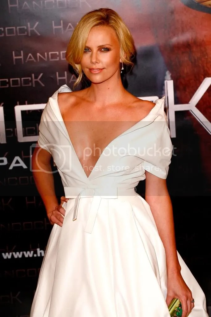Charlize Theron Updo