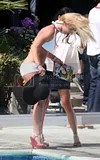 Britney Spears August 2009 New Hairstyle