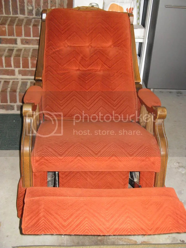 Vintage Lazy Boy Recliner Photo by chrystal01_photos