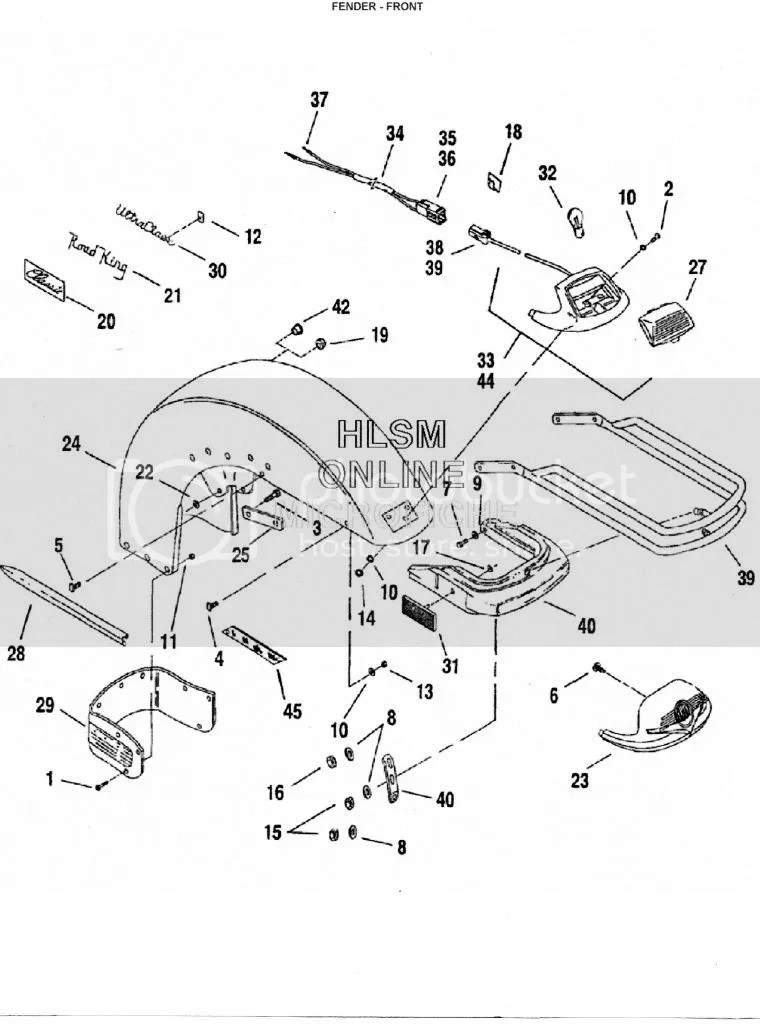 Harley Rocker Wiring Diagram