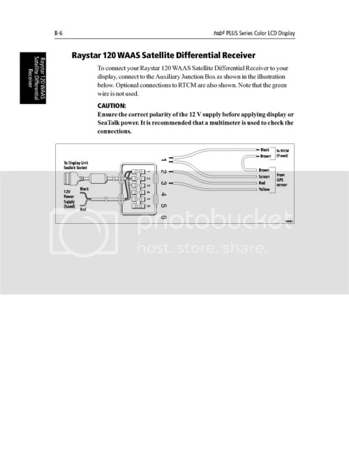 small resolution of boatered raymarine install assistance nmea0183 seatalk raymarine 125 gps antenna wiring diagram