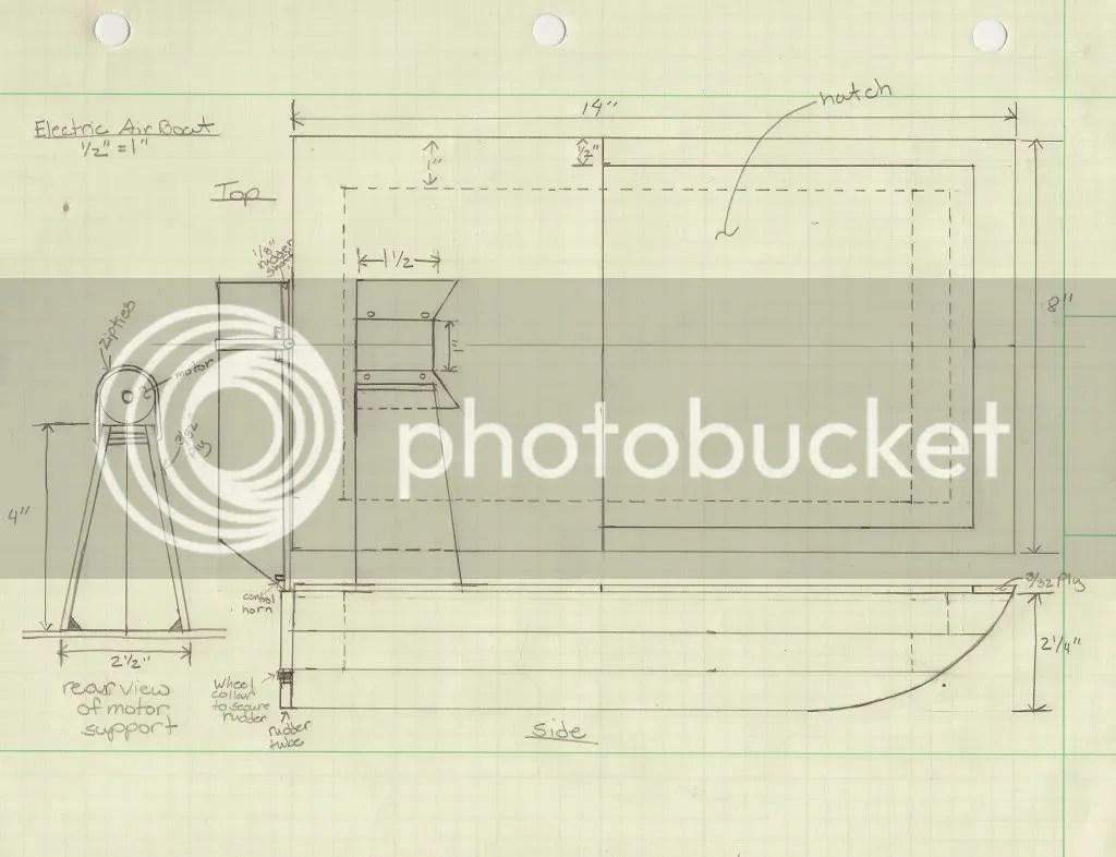 Build Diy Rc Electric Airboat Plans Pdf Plans Wooden Plans