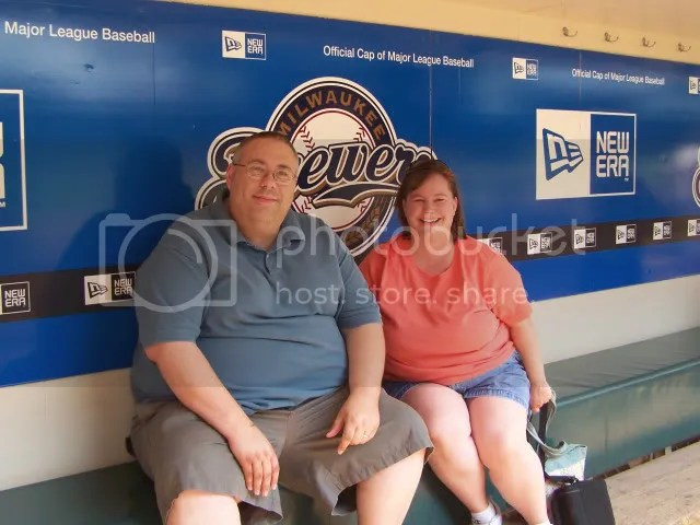 In the dug out