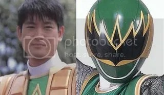 Green Samurai ranger Pictures, Images and Photos