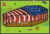 flag-coffin