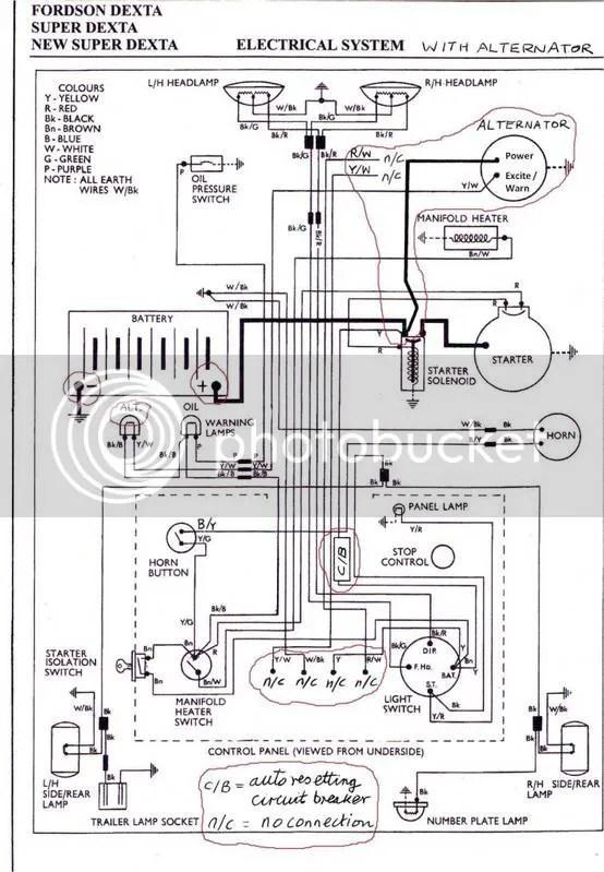 fordson dexta wiring diagram fordson major starter motor wiring diagram 1958 283 chevy solinoid wiring diagram | comprandofacil.co