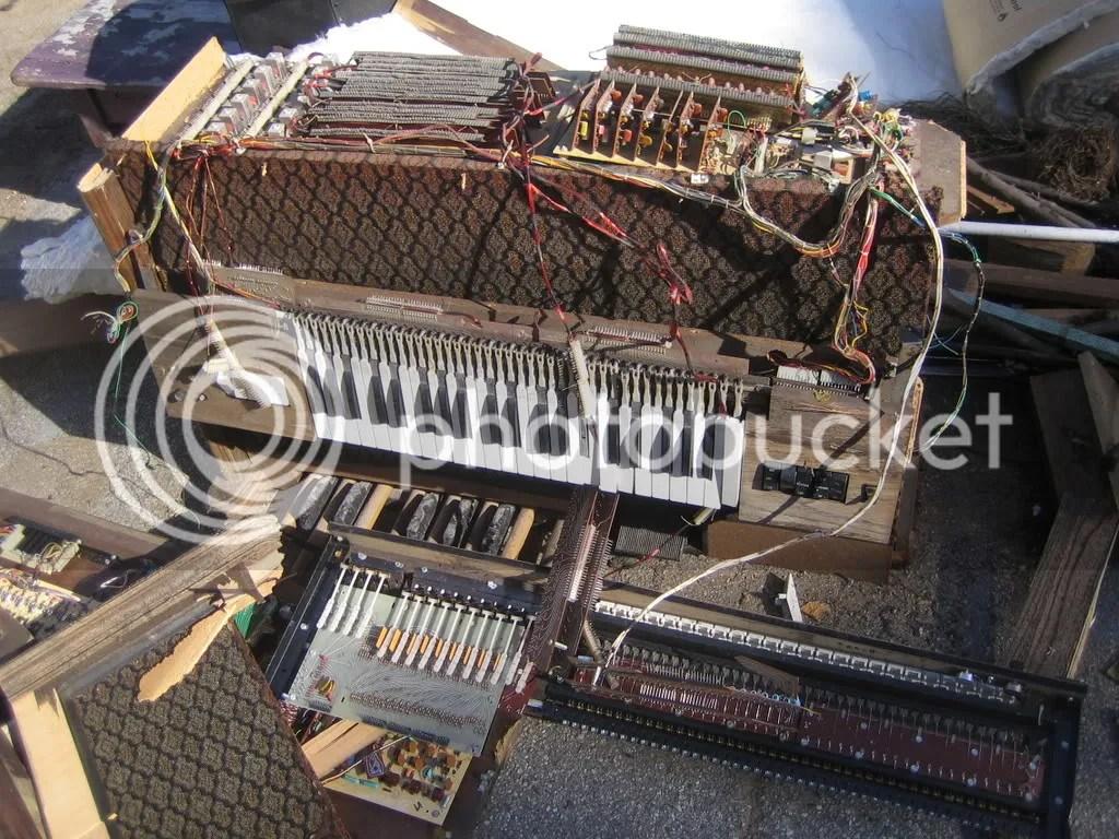 busted organ