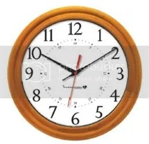 Wood Clock IW-1
